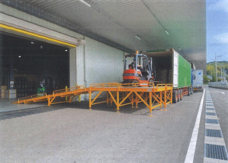 配送センター商品保管例